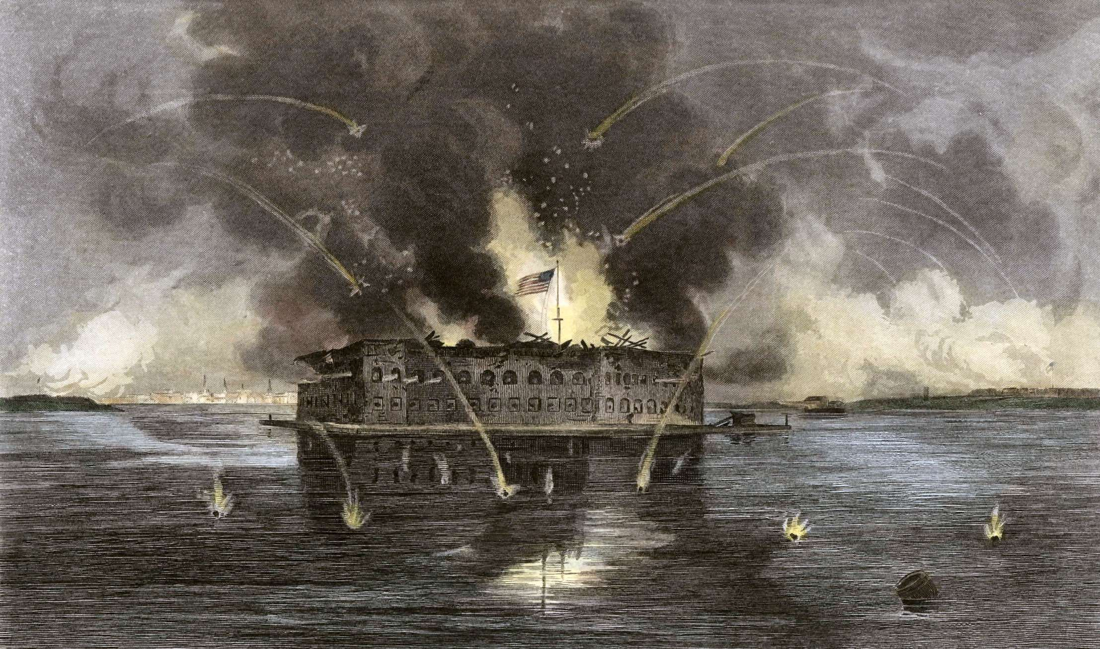 the significance of fort sumter for the outcome of the american civil war The battle of fort sumter marked the first exchange of fire in the civil war after seven southern states ratified their declarations of secession, the state of south carolina demanded that federal (united states) troops stationed at fort moultrie (in charleston harbor) abandon the fort on december.